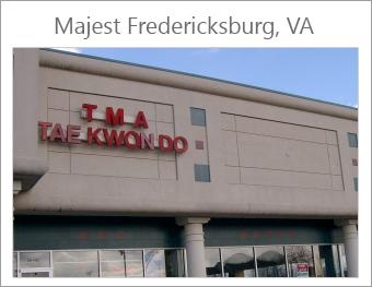 Majest Fredericksburg Class Schedule